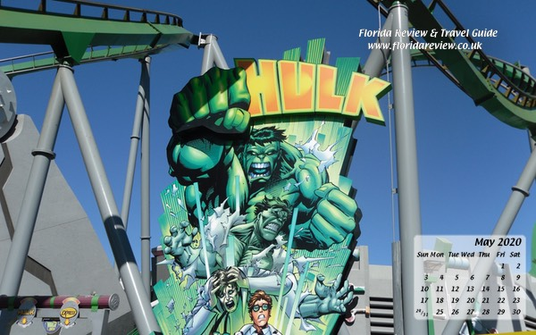 Hulk Coaster at Universal's Islands of Adventure