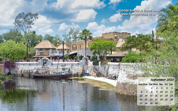 Port of Harambe at Disney's Animal Kingdom