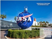 NASA bauble decoration at the Kennedy Space Center