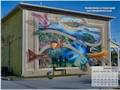 Titusville - Paddling Our Wildlife Paradise by Florida artist Keith Goodson