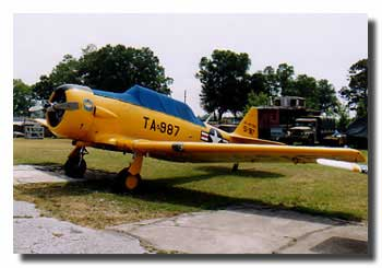 North American T-6G Texan (Harvard) N51987 at Kissimmee
