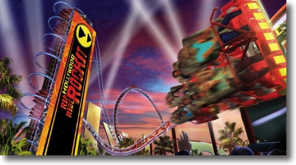 Artists impression of the Hollywood Rip Ride Rockit
