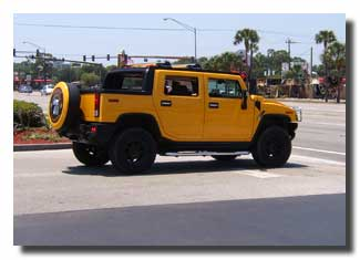 You cannot afford to get lost if you are driving a Hummer !!