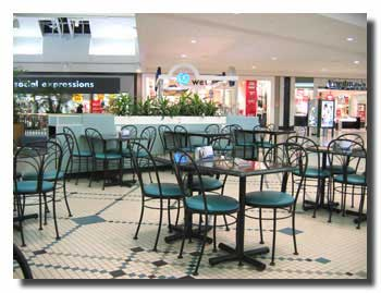 Restaurant in Shopping Mall