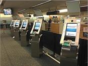 Kiosks at Orlando International Airport