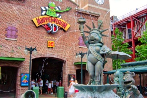 Muppets Courtyard