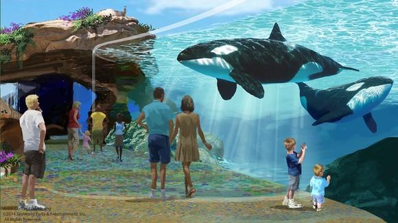 Artist Concept Rendering, © 2014 SeaWorld Parks & Entertainment Inc. All Rights Reserved