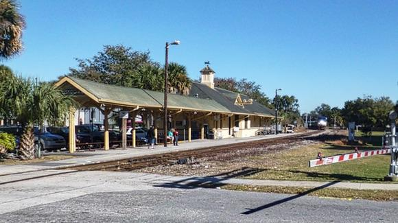 Amtrak Station in Kissimmee