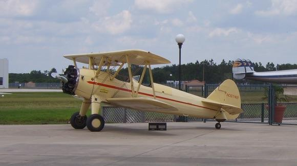 Boeing Stearman NC67412 at Fantasy of Flight