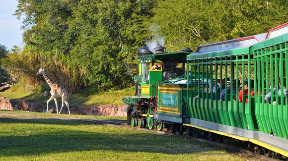 Busch Gardens Railway [© 2019, floridareview.co.uk, all rights reserved]