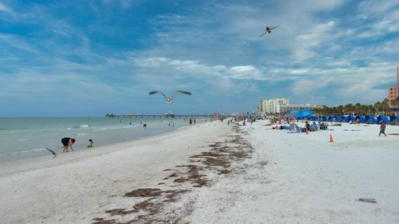 Clearwater Beach ranked first in USA by TripAdvisor readers in 2016, 2018 & 2019  [© 2020, floridareview.co.uk, all rights reserved]