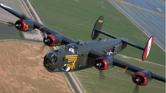 Consolidated B-24 Liberator ©2012 The Collings Foundation. All Rights Reserved.