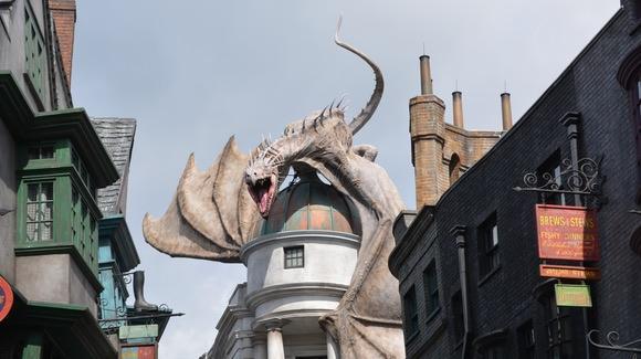 Dragon at Diagon Alley