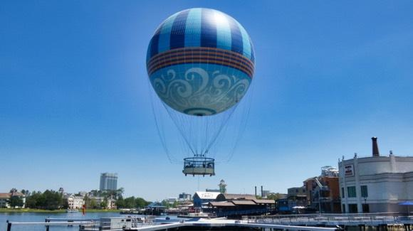 Aerophile Balloon at Disney Springs  [© 2020, floridareview.co.uk, all rights reserved]
