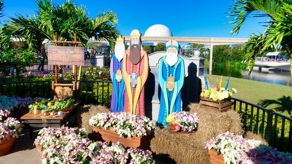 The Three Kings at Epcot International Festival of the Holidays