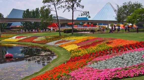 Florida in Bloom at the Epcot International Flower and Garden Festival