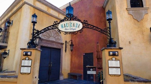 La Hacienda de San Angel Restaurant at the Mexico pavilion