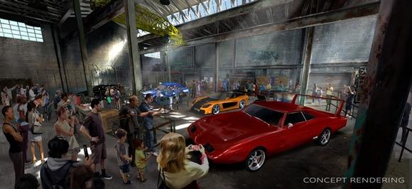 Fast & Furious Concept Artwork [© 2015 Universal Orlando Resort. All rights reserved]