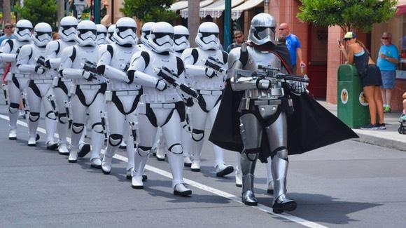 March of the First Order [© 2019, floridareview.co.uk, all rights reserved]