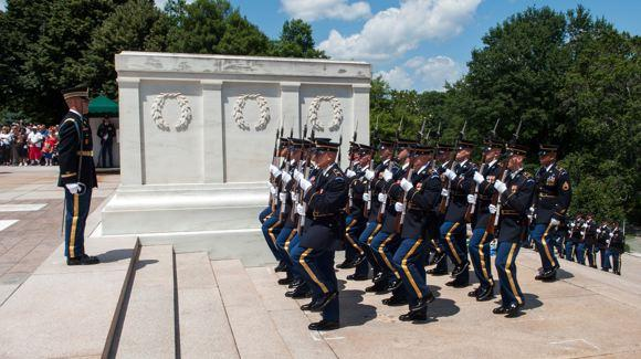 Honor Guard at Arlington National Cemetery. © U.S. Department of Defense
