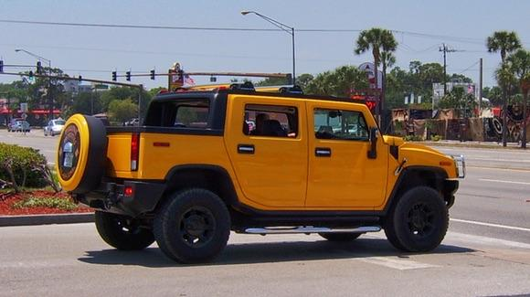 You cannot afford to get lost if you are driving a Hummer !