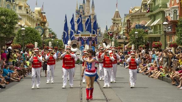 Independence Day Parade at Magic Kingdom [© Walt Disney World]