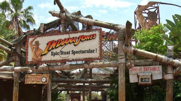 Entrance to Indiana Jones Epic Stunt Spectacular!