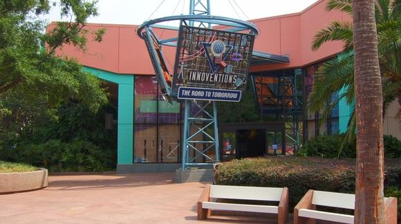 Entrance to Innoventions - The Road To Tomorrow at Epcot