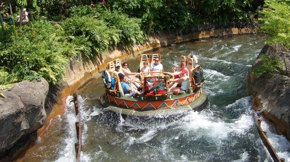 Kali River ride at Disney's Animal Kingdom [© 2019, floridareview.co.uk, all rights reserved]