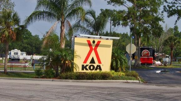 KOA campground in Kissimmee