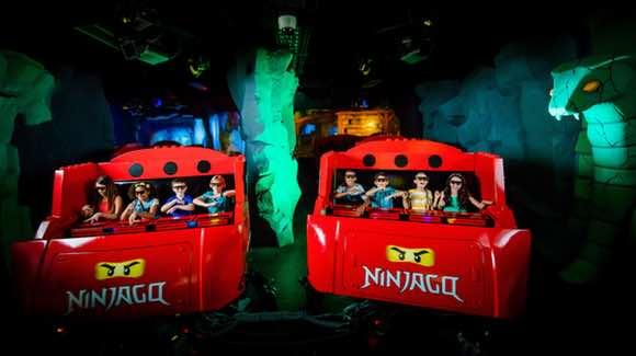 LEGO NINJAGO® The Ride [© Merlin Entertainments Group, LEGOLAND Florida, Chip Litherland Photography]