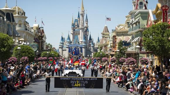 Main Street with the Invictus Games parade [© Disney. All rights reserved]