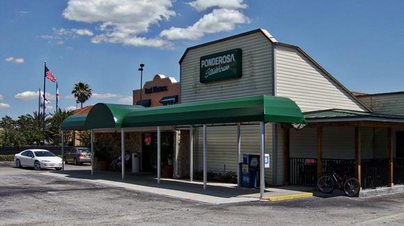 Ponderosa Steakhouse Restaurant