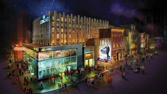 Race Through New York Starring Jimmy Fallon concept art [© 2016 Universal Orlando Resort. All rights reserved]