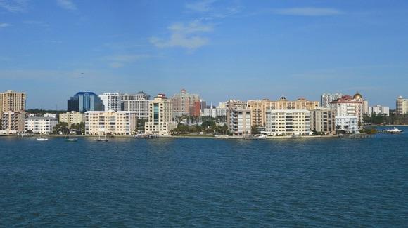 Sarasota waterfront view
