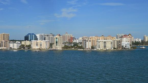 Sarasota waterfront view