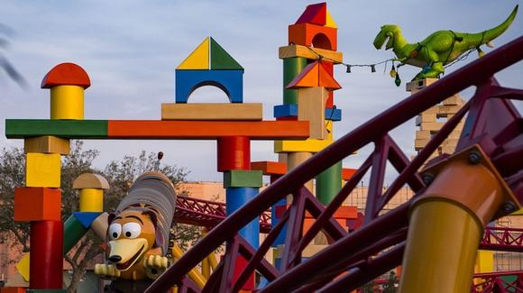 Slinky Dog Dash Coaster at Toy Story Land [© Disney. All rights reserved]