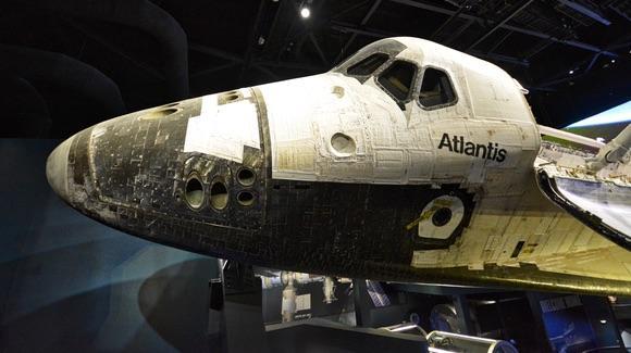 Space Shuttle Atlantis after its final flight