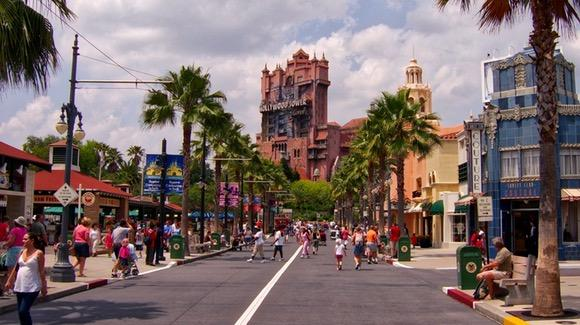 Sunset Boulevard at Disney's Hollywood Studios