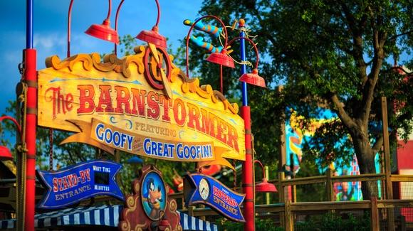 The Barnstormer featuring the Great Goofini [© CC BY-NC-ND 2.0 Brett Kiger https://www.flickr.com/photos/brettkiger/]
