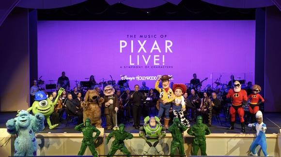 The Music of Pixar LIVE!  [© Disney. All rights reserved]