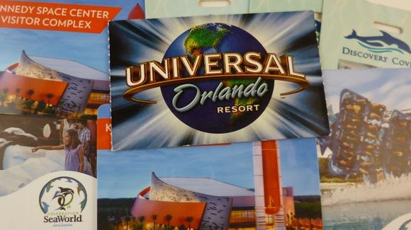 Selection of Florida theme park tickets
