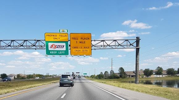 Florida Turnpike Toll By Plate Rental Car