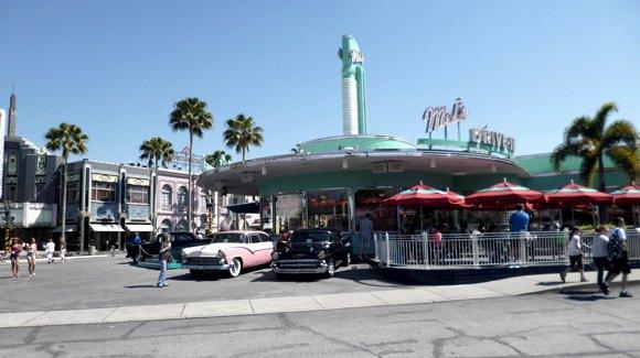 Mel's Diner at Universal Studios