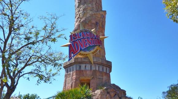 Universal's Islands of Adventure entrance