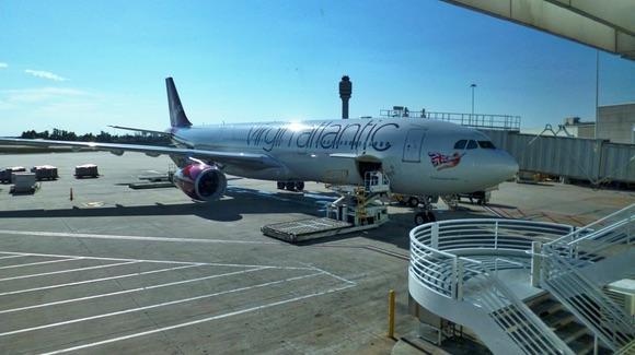Virgin Atlantic Airbus A330 at Orlando International Airport