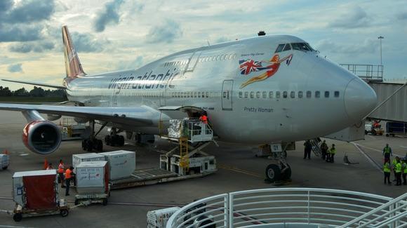 Virgin Atlantic Boeing 747 Jumbo Jet