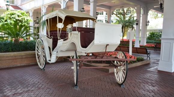 Cinderella's Wedding Coach [© Disney. All rights reserved]