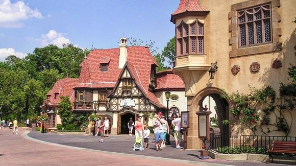 World Showcase Germany at Epcot